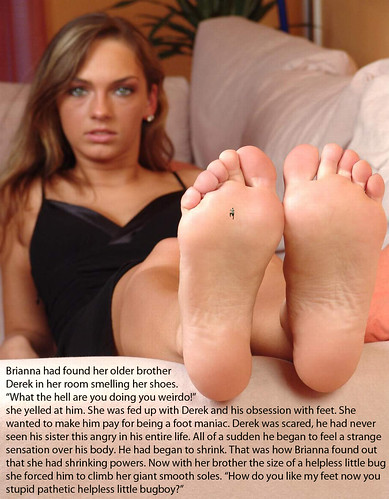 Forced To Smell Sisters Feet photo 20