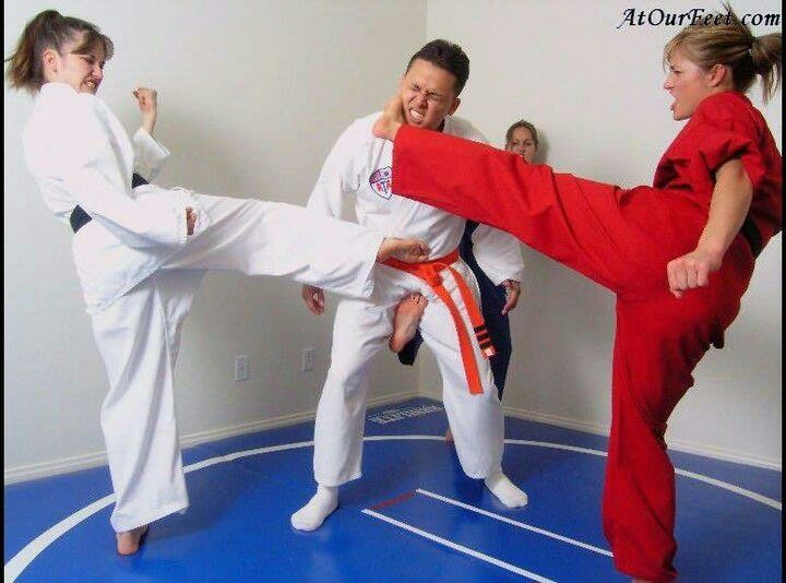 Karate Kick In The Nuts photo 3