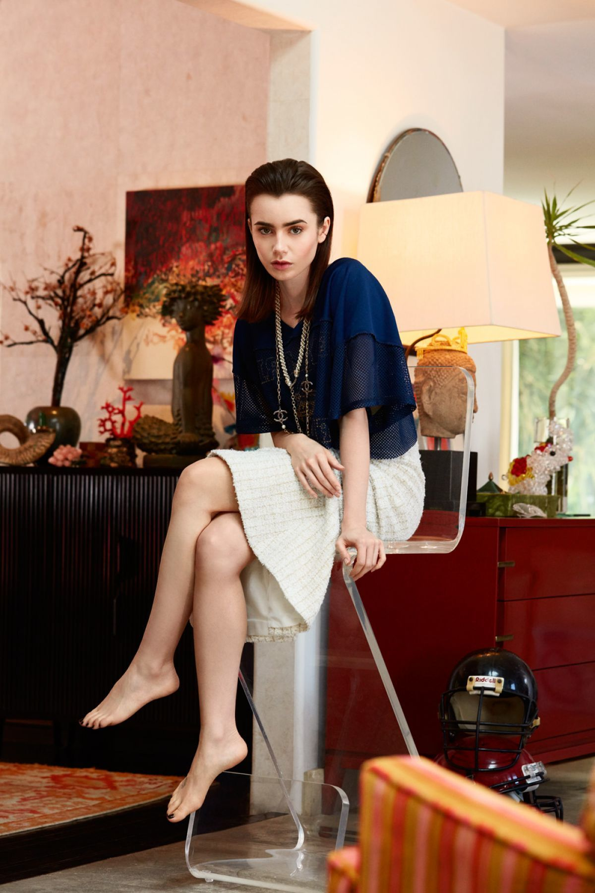 Lilly Collins Feet photo 6